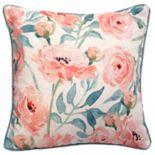 HFI Bella Floral Print Throw Pillow