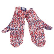 Women's New York Giants Chunky Mittens