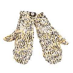 Women's Pittsburgh Steelers Chunky Mittens