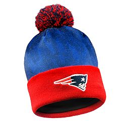 6f11cfafd7d9e Adult New England Patriots Light Up Beanie