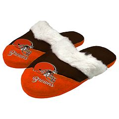 Woman's Cleveland Browns Slide Slippers