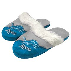 Woman's Detroit Lions Slide Slippers