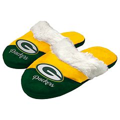 Woman's Green Bay Packers Slide Slippers