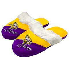 Woman's Minnesota Vikings Slide Slippers