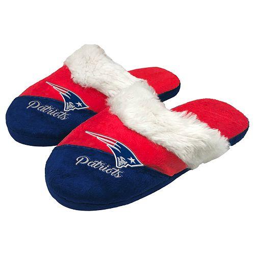 Woman's New EnglandPatriots Slide Slippers