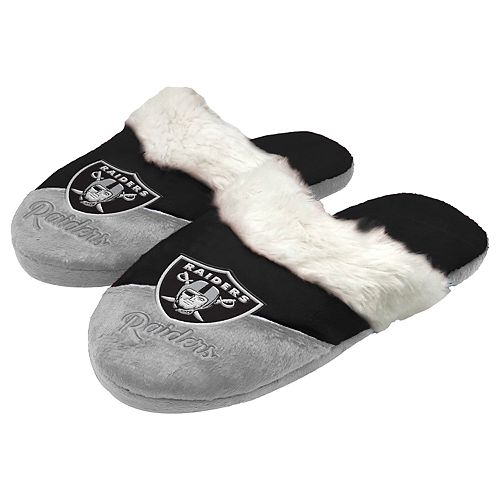 Oakland Raiders Logo Baby Bootie Slipper Large