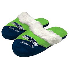 Woman's Seattle Seahawks Slide Slippers