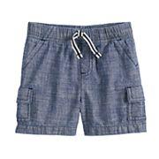 Baby Boy Jumping Beans® Chambray Cargo Shorts