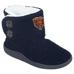Women's Chicago Bears Knit Button Boots