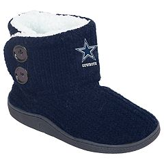 Women's Dallas Cowboys Knit Button Boots