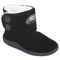 Women's Philadelphia Eagles Knit Button Boots