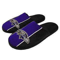 Men's Baltimore Ravens Slide Slippers