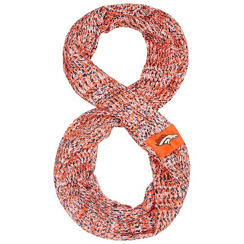 2319c4f827c Women s Denver Broncos Chunky Infinity Scarf