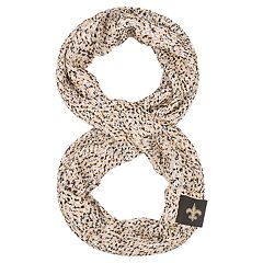 Women's New Orleans Saints Chunky Infinity Scarf