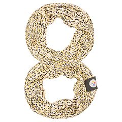 Women's Pittsburgh Steelers Chunky Infinity Scarf