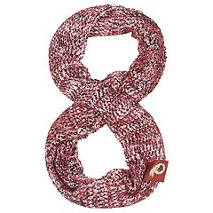 Women's Washington Redskins Chunky Infinity Scarf