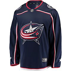 Men's Fanatics Columbus Blue Jackets Jersey