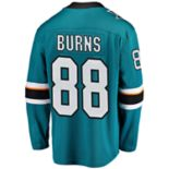 Men's Fanatics San Jose Sharks Brent Burns Jersey