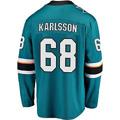 Men's Fanatics San Jose Sharks Erik Karlsson Jersey