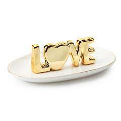 LC Lauren Conrad 'LOVE' Trinket Tray