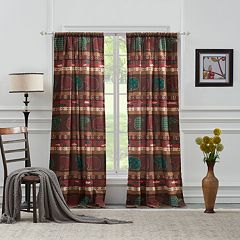 Greenland Home 2-pack Canyon Creek Window Curtains