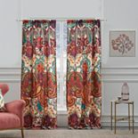 Greenland Home 2-pack Nirvana Spice Window Curtains