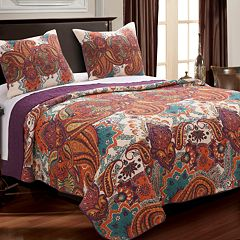 Greenland Home Nirvana Spice Quilt Set