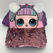 Girls 7-16 L.O.L. Surprise! Unicorn Flip Sequins Baseball Cap