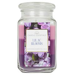 Candle Essentials Tri-Pour Lilac Blooms Candle