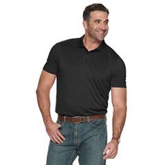 Big & Tall Croft & Barrow® Regular-Fit Space-Dye Performance Polo