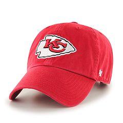 Adult '47 Brand Kansas City Chiefs Clean Up Adjustable Cap