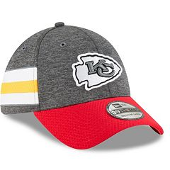 Adult New Era Kansas City Chiefs Sideline Home Official 39THIRTY Flex-Fit Cap