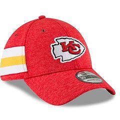 Adult New Era Kansas City Chiefs Sideline Home Official 39THIRTY Flex-Fit Cap
