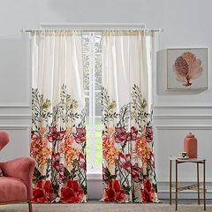 Barefoot Bungalow 2-pack Meadow Window Curtains