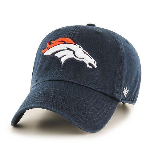 Adult '47 Brand Denver Broncos Clean Up Adjustable Cap