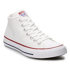 207dea3ce2b2e3 Women s Converse Chuck Taylor All Star Madison Mid Sneakers. Rhubarb Black White  White