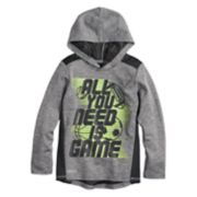 """Boys 4-12 Jumping Beans® """"All You Need Is Game"""" Playcool Pullover Hoodie"""