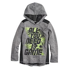 Boys 4-12 Jumping Beans® 'All You Need Is Game' Playcool Pullover Hoodie