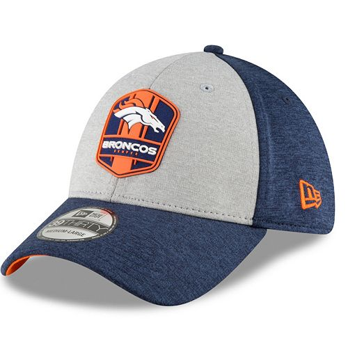 new product 8f768 6ef21 Adult New Era Denver Broncos Sideline Team 39THIRTY Flex-Fit Cap
