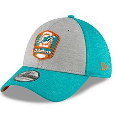 Adult New Era Miami Dolphins Sideline Team 39THIRTY Flex-Fit Cap