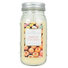Candle Essentials Frosted Cupcakes Mason Jar Candle