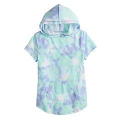 Girls 7-16 SO® Short Sleeve Hoodie