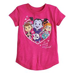 Toddler Girl Jumping Beans® Vampirina 'Live Out Loud' Glittery Graphic Tee