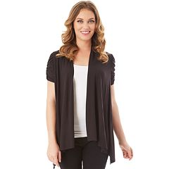 27761242cfa Women s Apt. 9® Draped Open-Front Cardigan