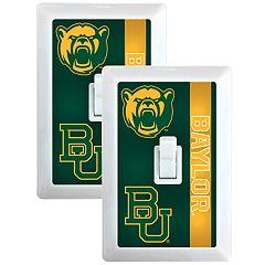Baylor Bears 2-Pack Nightlight Light Switch