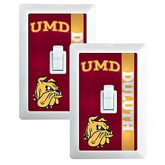 Minnesota - Duluth Bulldogs 2-Pack Nightlight Light Switch