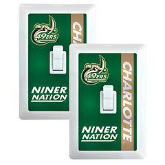 Charlotte 49ers 2-Pack Nightlight Light Switch