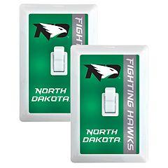 North Dakota Fighting Hawks 2-Pack Nightlight Light Switch