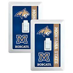 Montana State Bobcats 2-Pack Nightlight Light Switch