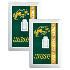North Dakota State Bison 2-Pack Nightlight Light Switch